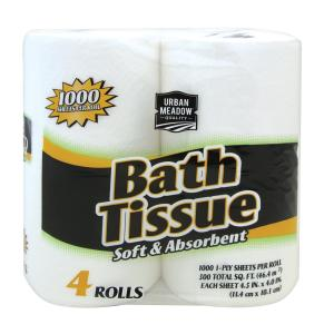 Urban Meadow - Bath Tissue 4 pk