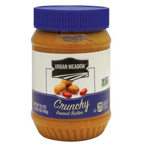 Urban Meadow - Crunchy Peanut Butter