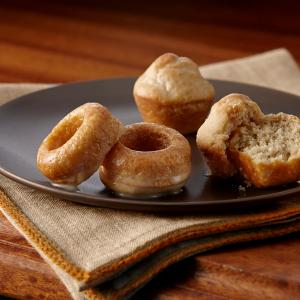 Mini Baked Pumpkin Pie Spice Donuts with Vanilla Glaze - mccormick®