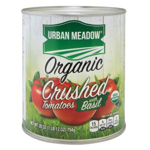 Urban Meadow Green - Organic Crushed Tom W Basil