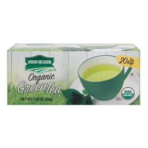 Urban Meadow Green - Organic Green Tea Bags