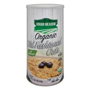 Urban Meadow Green - Organic Old Fashion Oatmeal