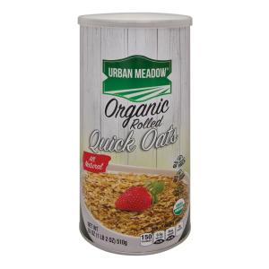 Urban Meadow Green - Organic Quick Oatmeal
