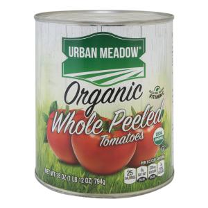 Urban Meadow Green - Organic Whole Peeled Tom