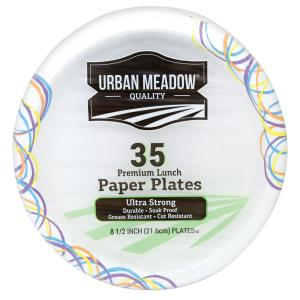Urban Meadow - Ultra Design 8.5 Inch Plates